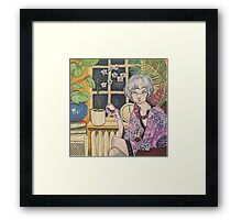 Let's Stay In Framed Print