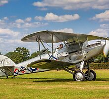 Hawker Demon I K8203 G-BTVE taxying out by Colin Smedley