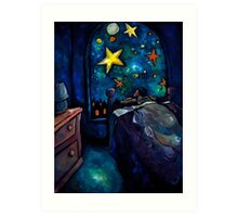 """The Brightest Night Light"" by Chad Elliott Art Print"