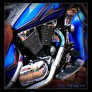 BLUE Motorcycle Shot 2010 by patjila
