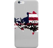 Patriotic Peony iPhone Case/Skin