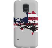 Patriotic Peony Samsung Galaxy Case/Skin