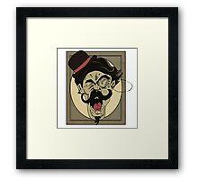YE OL YELLAH Framed Print