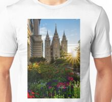 Starburst SLC LDS Temple Unisex T-Shirt
