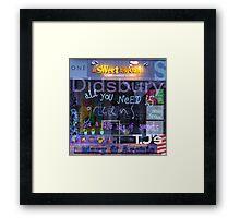 M20 MASHUP #6 Framed Print