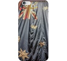 Australian Flag at the Shrine of Remembrance iPhone Case/Skin