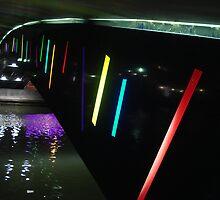 Light Bridge Gruissan by Laspa31