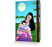 Mother and Child III Greeting Card