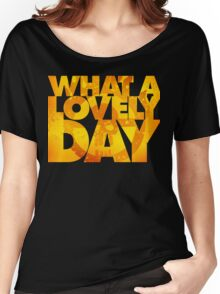 What a lovely day v.2 Women's Relaxed Fit T-Shirt