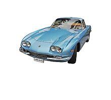 Vintage Italian Sports Car Photographic Print