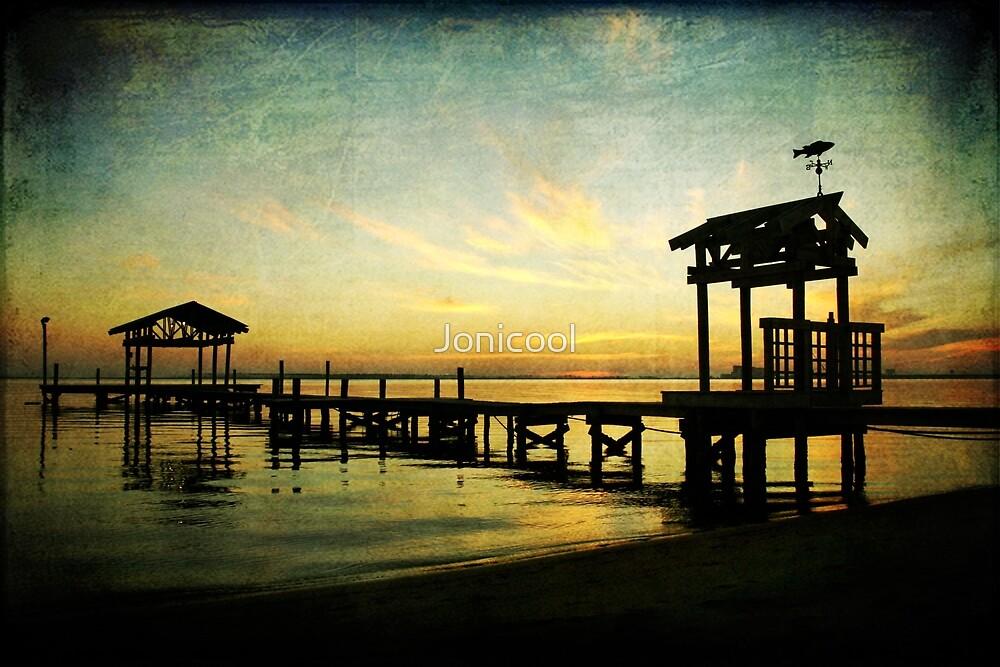 East Beach Pier by Jonicool