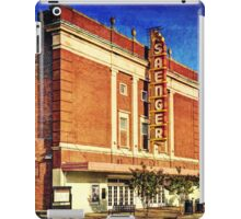Saenger Theater iPad Case/Skin