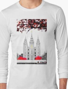 Christmas at Temple Square Long Sleeve T-Shirt