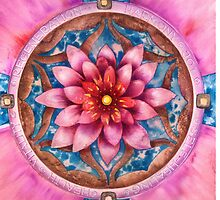 Mandala Of Health by Anna Miarczynska