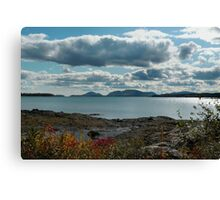 "'Mt. Desert Island from McNeil Point"" Canvas Print"