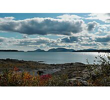 """'Mt. Desert Island from McNeil Point"""" Photographic Print"""