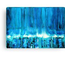 Breakers off Point Reyes original painting Canvas Print