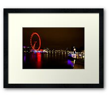 The Still Of The Night Framed Print