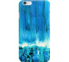 Breakers off Point Reyes original painting iPhone Case/Skin