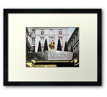 Savoy Framed Print