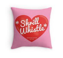 Shrill Whistle Throw Pillow