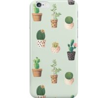 Cactus Pattern iPhone Case/Skin