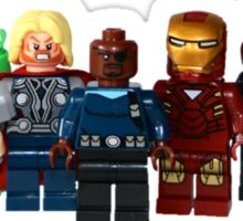 LEGO Avengers with Nick Fury Sticker