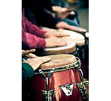 Drum Line Photographic Print
