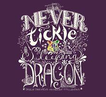 Never Tickle a Sleeping Dragon (Color, Light) Unisex T-Shirt