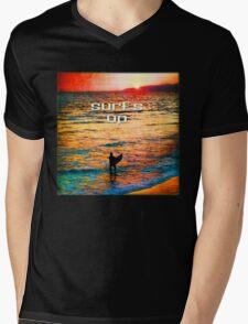 Venice Beach Boogie Mens V-Neck T-Shirt