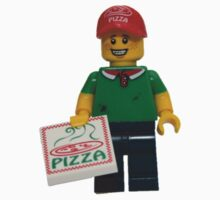 LEGO Pizza Delivery Guy One Piece - Long Sleeve