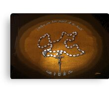 The Rosary - Florence Barclay Canvas Print
