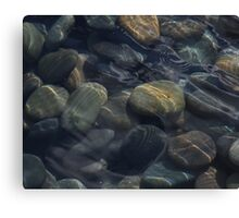 Stones & Ripples Canvas Print