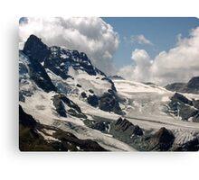 Matterhorn Valley mountains Canvas Print
