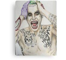 Jared Leto suicide squad joker  Canvas Print
