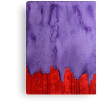 Edge of the West original painting Canvas Print