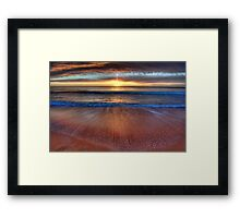 Anticipation - Newport Beach - The HDR Experience Framed Print