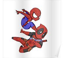 Spiderman win Poster