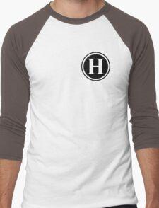 Circle Monogram H Men's Baseball ¾ T-Shirt