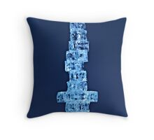 Stacked Glass Throw Pillow