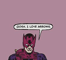 Clint Loves Arrows by brooklynbarnes