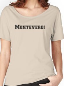 Monteverdi College Women's Relaxed Fit T-Shirt