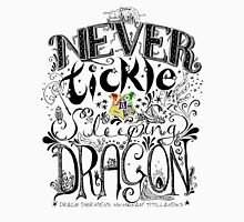 Never Tickle a Sleeping Dragon (Color) Unisex T-Shirt