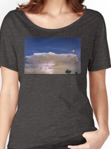 Springtime Thunderstorm On the Colorado Plains Women's Relaxed Fit T-Shirt
