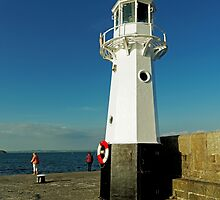 Harbour Lighthouse, Mevagissey by Rod Johnson