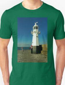 Harbour Lighthouse, Mevagissey Unisex T-Shirt