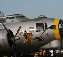 B17 Liberty Belle by Peter Bodiam