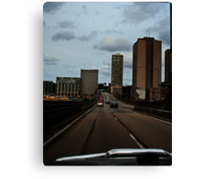 On The Road #2 Canvas Print