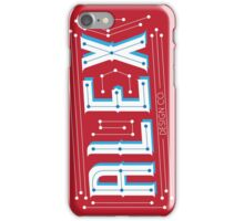 Alex Design Co. - Type Print #1 iPhone Case/Skin
