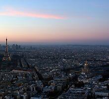 Paris from Tour Montparnasse by parischris